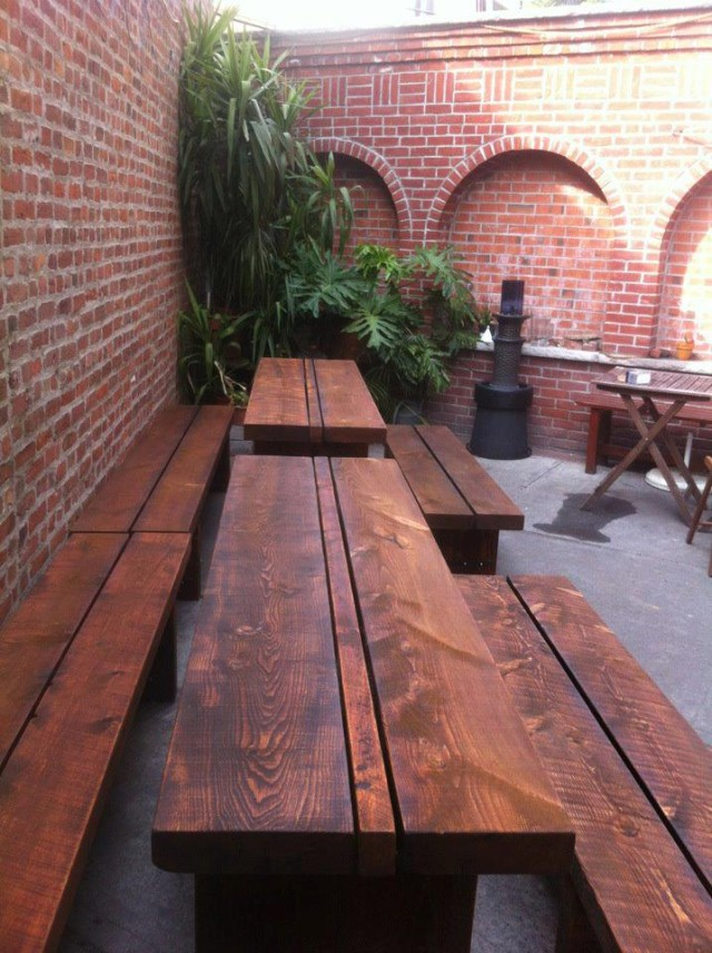 Whaaat is that fancy brickwork? Find it at Boulevard Tavern! Via Facebook.