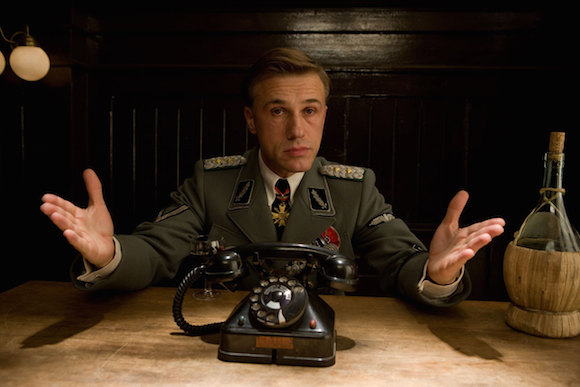 What else are you doing on a Wednesday night that you can't hang out with Hans Landa?