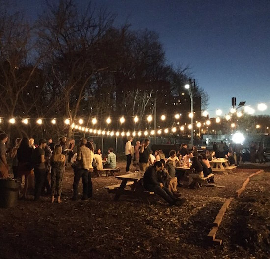 Kings County Distillery opens Navy Yard backyard bar