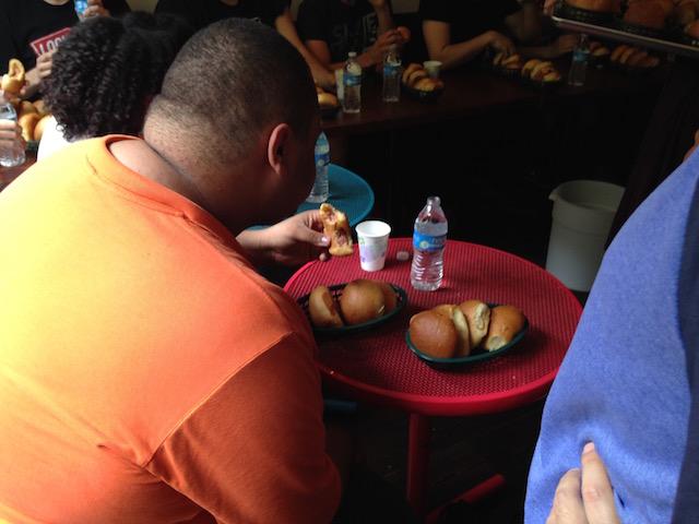 kolache eating contest4