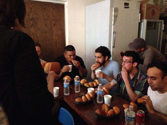 kolache eating contest5