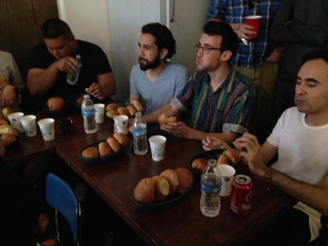 kolache eating contest8