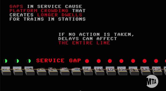 subway delays video