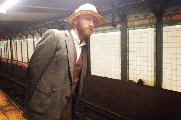 Hello I am v. modarn, I ride the subway