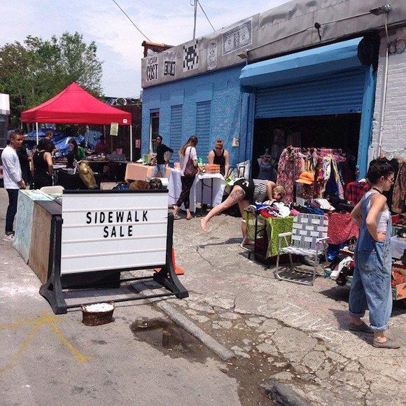 'Shwick has a garage-sale feel, even though none of us has a garage. via Facebook