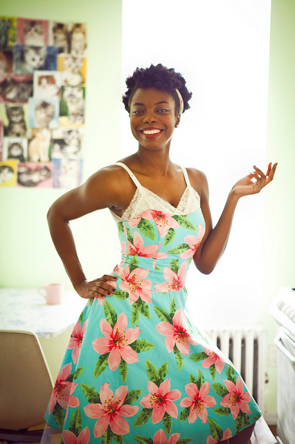 See what kind of singing voice Sasheer Zamata has tonight at Union Hall. Photo by Robyn van Swank