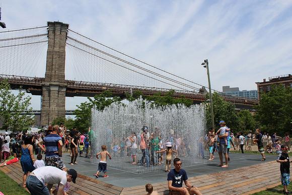 Brokelyn-Brooklyn Bridge Park-Jeppe Hein-Please Touch The Art-Appearing Rooms