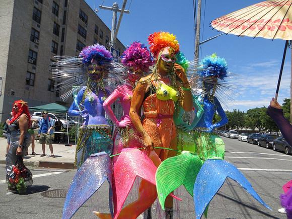 Mermaid Parade-Coney Island-Brooklyn-Brokelyn