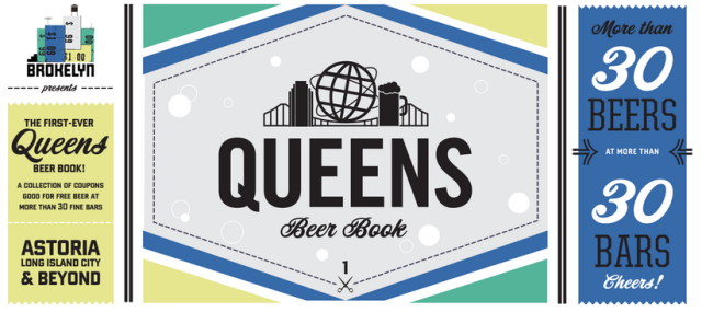 The 2015 Queens Beer Book looked like this. Rad!