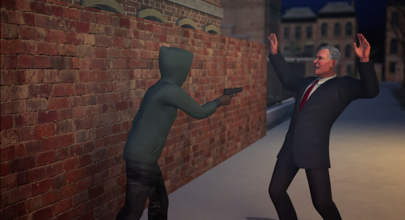 The Taiwanese Animators looked at NYC's crime spike