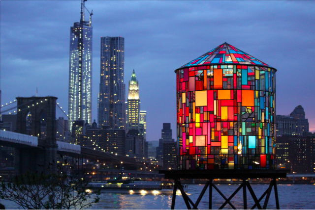 Build yourself a water tower, and 23 more ways to have a creative weekend