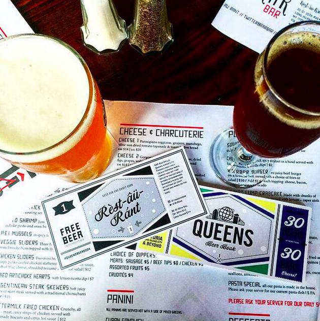 Queens Beer Book R'A'R Bar