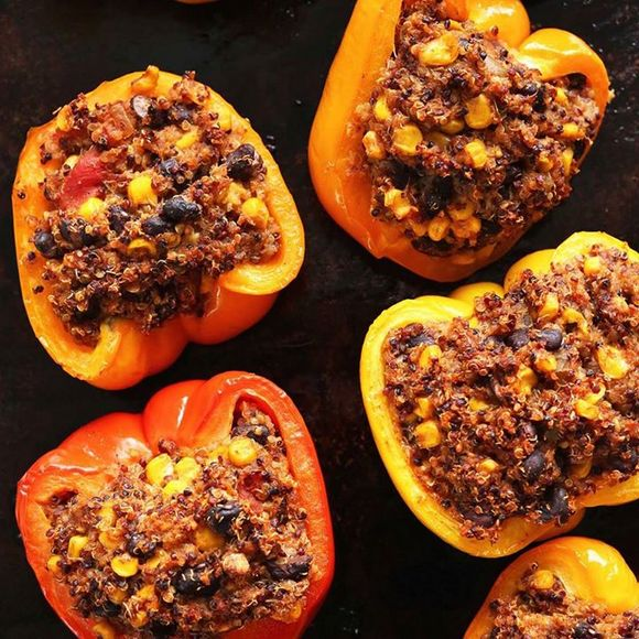 Spanish Quinoa Peppers-Brokelyn-Brooklyn-Food-Stay at home guide-001