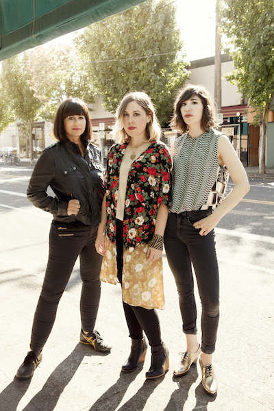 Sleater-Kinney is playing the Market Hotel on their new tour