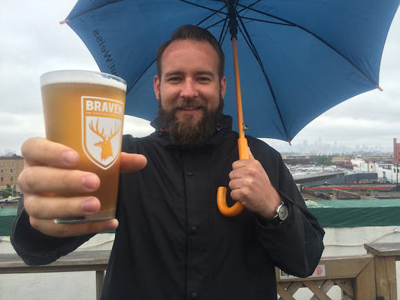 The perfect summer Sunday in Bushwick with Marshall Thompson, owner of Braven Brewing