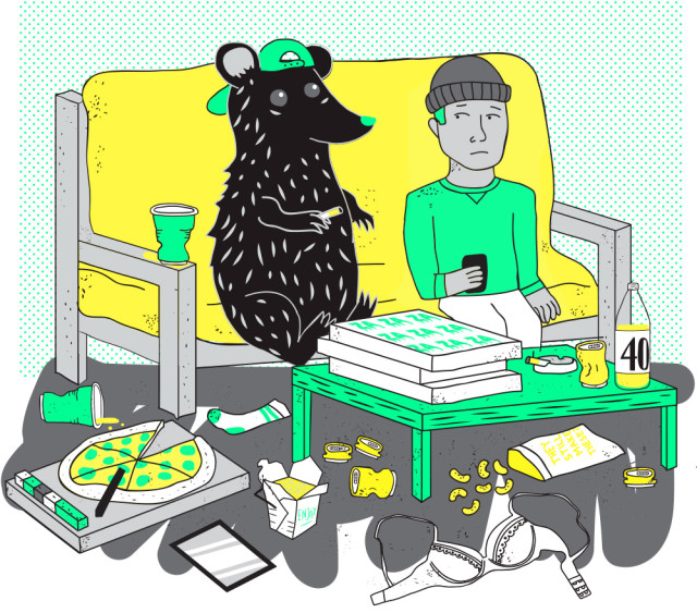 Disasters, party monsters, ex-BFFs: The 8 types of bad roommates you experience in Brooklyn