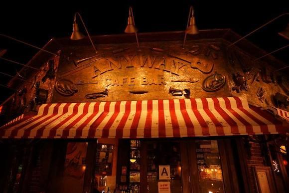 Anyway café, where everybody knows your name. via Facebook
