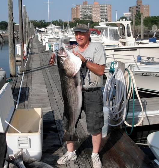 Joe G. catches a 37.5 pound bass, via Facebook