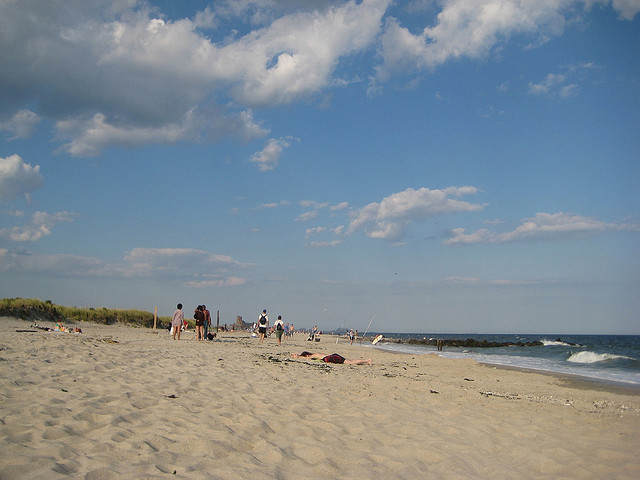 Fort Tilden and it's wide expanses are waiting for you. via Flickr user Jeff Easter
