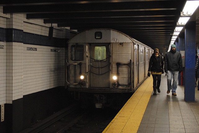 Here's a chance to get free pizza and complain about the C train