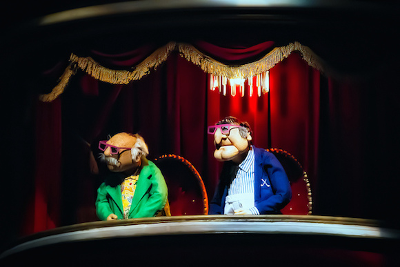 Be like Statler and Waldorf, make a living out of being judgy. via flickr user Brett Kiger