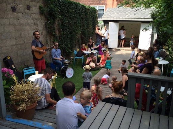 Kids and singing and coffee. What more do you need - Photo from Facebook