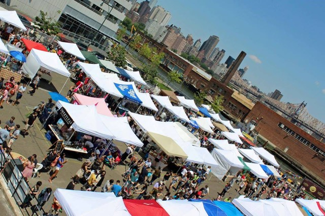Sunday: Brokelyn readers get a free beer at the LIC Flea