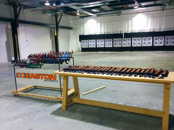 Shoot to conquer, at Gotham Archery.