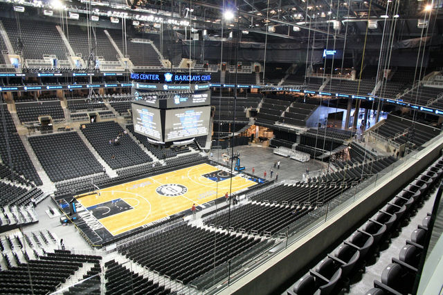 Someone's suing the Barclays Center over its Seats of Doom