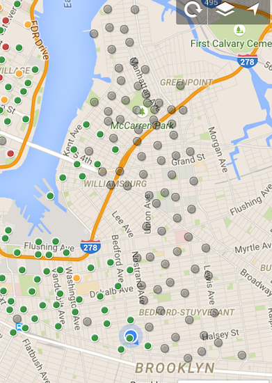 Car Wars update: Behold, the location of Brooklyn's newest Citi Bike stations
