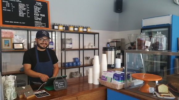 8oz cups of coffee for $1? Yes, please. Photo by Shannon Mustipher
