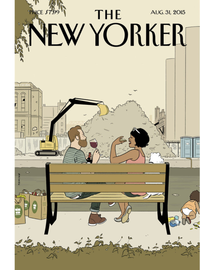 Gowanus takes center stage on this week's 'New Yorker' cover