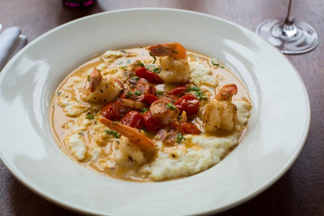 You've got a whole month to get acquianted with Sweet Science's shrimp and grits, for less. via I Don't Do Clubs