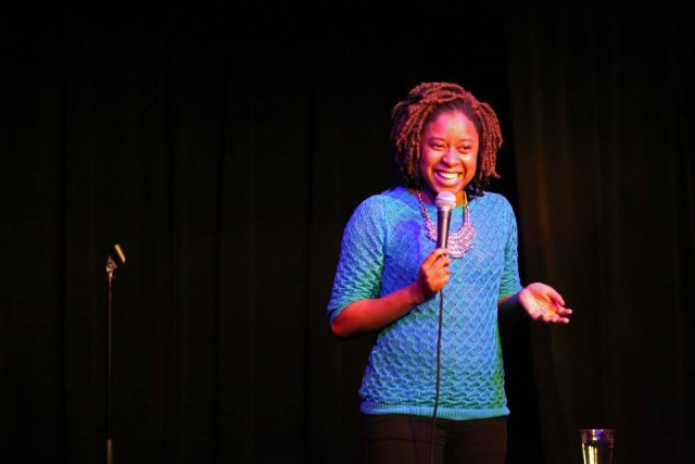 Come out and see Phoebe Robinson do a good 15 minute set about birthdays, at Blaria Live. Nah, it probably won't be about that. Photo by Jon Mayer, via Facebook