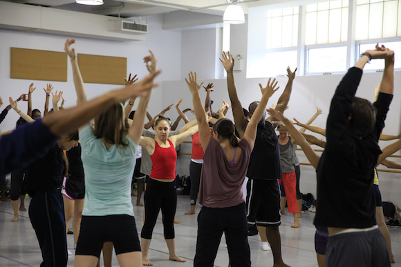 Take free dance and fitness classes this weekend at Mark Morris!