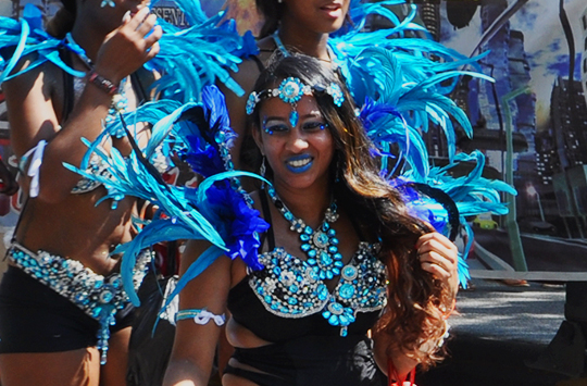 Scenes from the 2015 West Indian Day Parade