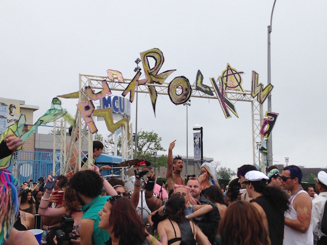 Punkrockaway is bringing it all back home for the Poseidon Parade. Photo by David Colon