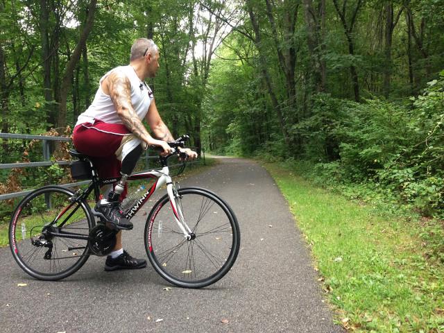 Sorta Outdoorsy Bike the Old Putnam Trail