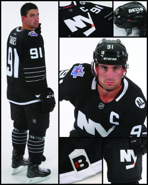 The Islanders' black and white jersey is here and it is…eh