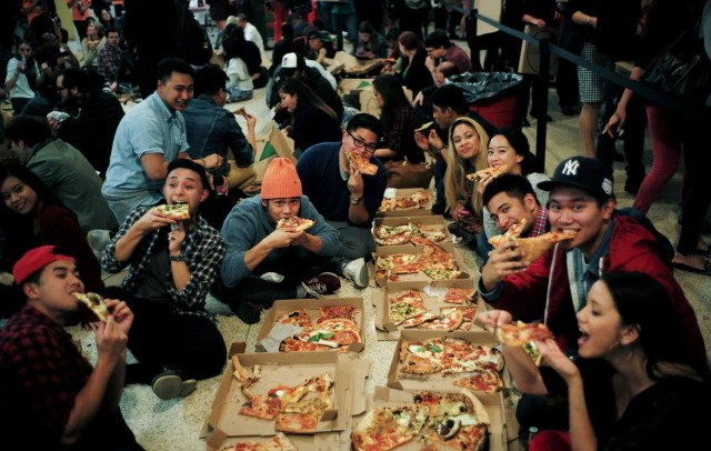 Reminder: Eat the best pizza in NYC for $1/slice to benefit charity at Slice Out Hunger tonight