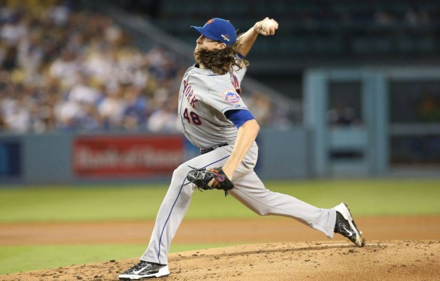 The Mets will need Jacob deGrom's control to be as good as his hair to take one last series. via Facebook
