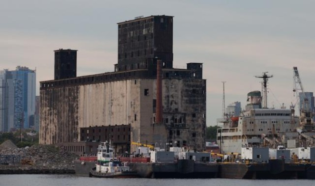 What secrets does the Gowanus Bay Terminal hold? Finally, you can find out! Photo by Ben Helmer, via OHNY