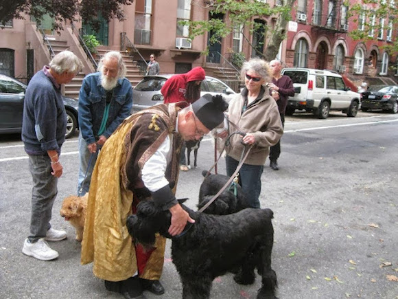 The Pope may be gone, but you can still get your dog blessed in Brooklyn