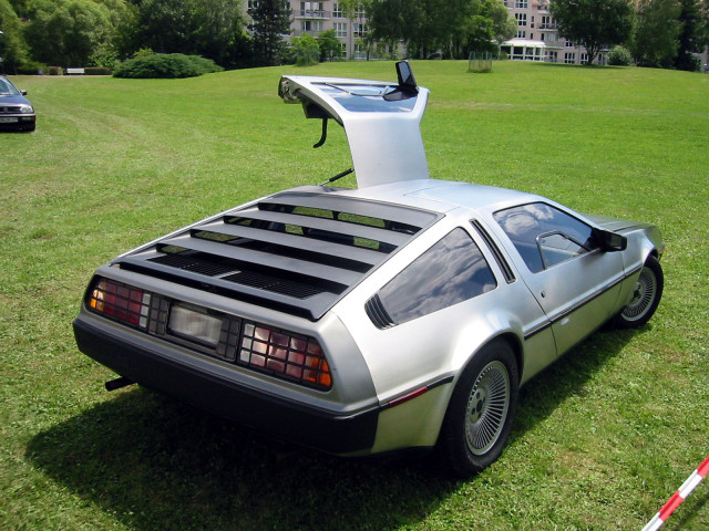 You can ride in a DeLorean for free tomorrow, if that's what you want to do