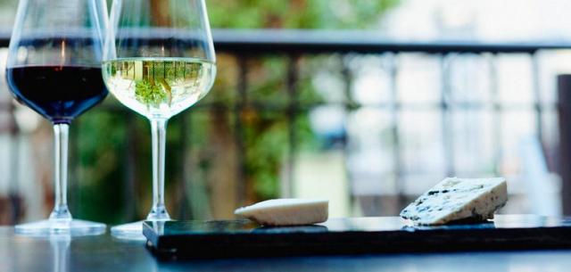 Pair Wine & Cheese.