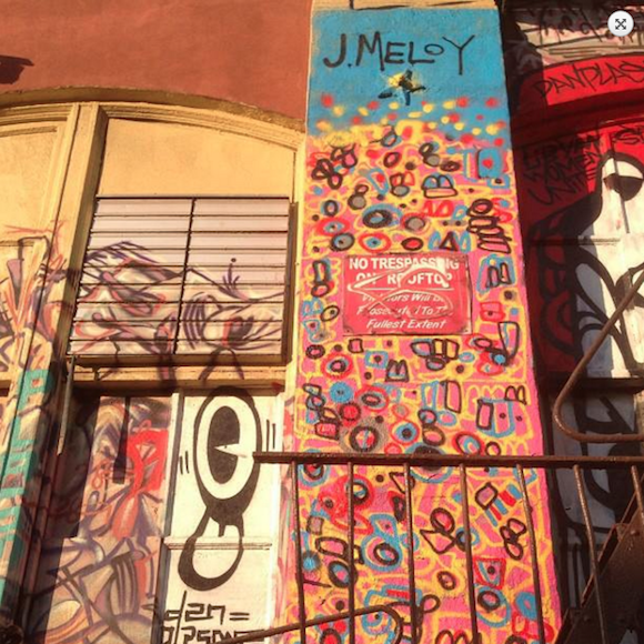 Meloy's contribution to the late Five Pointz