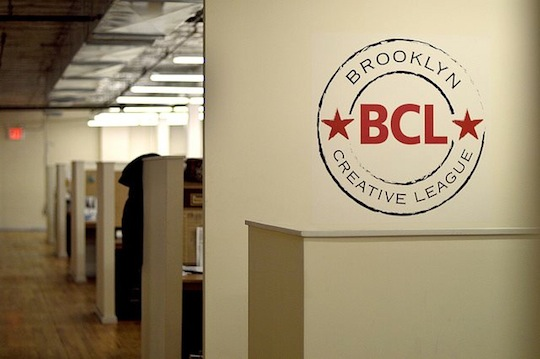 Brooklyn Creative League offices. Photo via Facebook