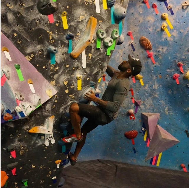 Brooklyn Boulders has free climbing for you all weekend
