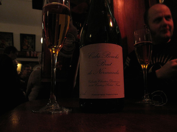 Enjoy it in a flute, you classy drinker, you. via flickr user Bernt Rostad