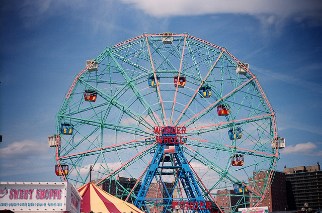 For the first time ever, you can ride the Wonder Wheel on New Year's Day